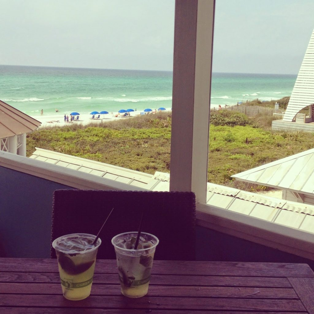 an afternoon in seaside, florida