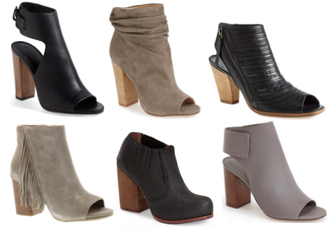 fashion friday: two-toned booties