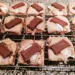 s'mores cookie squares