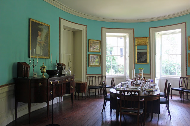 charleston's nathaniel russell house tour