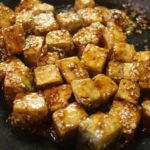 meatless monday: sweet and spicy tofu