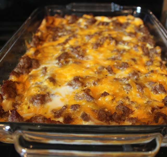 tried and true breakfast casserole
