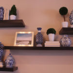 atlanta home tour: dining room accent wall