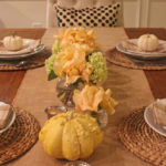 a {gourd}geous fall tablescape // two ways