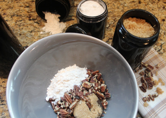 holiday baking with infinity jars