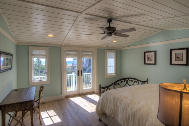 beach house master suite reveal