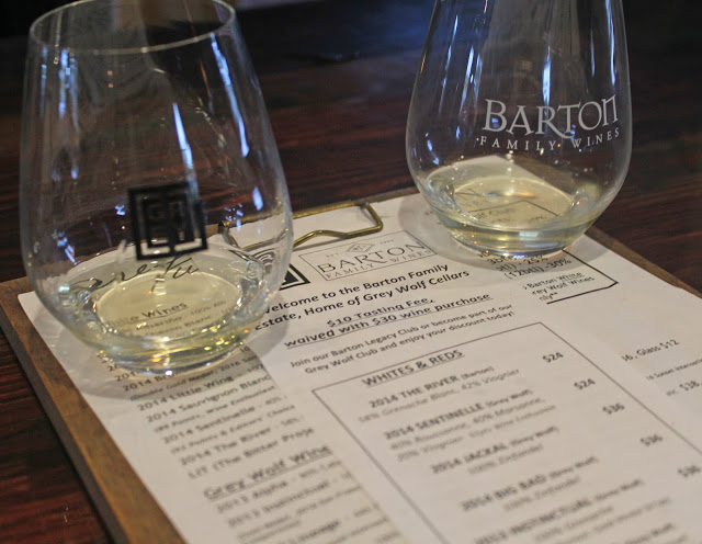 paso robles wine trip day three // grey wolf, halter ranch, brecon