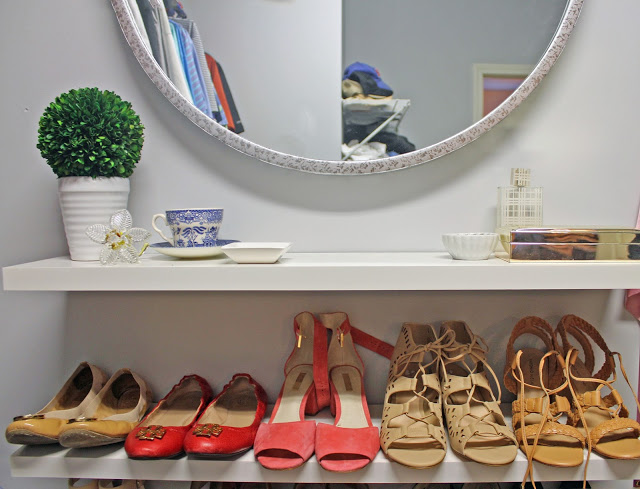 atlanta home tour: master closet update